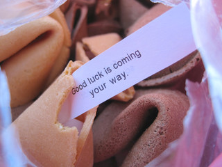 Fortune cookie - Good luck