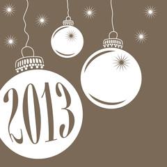 Christbaumkugel Weihnachten 2013
