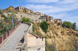 Panoramic view of Tursi. Basilicata. Italy.