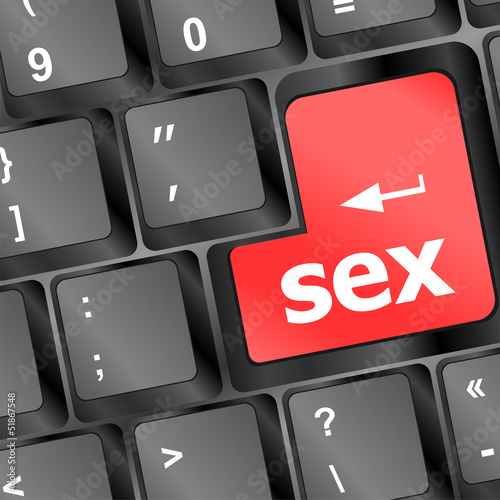 Sex button on laptop keyboard