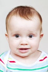portrait of nice baby