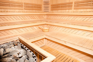 Panorama Of Finnish Sauna