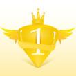 1st place crest