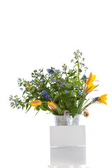 bouquet of early spring flowers