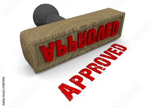 STAMP APPROVED - 3D