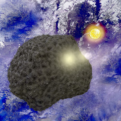 Asteorid - 3D render