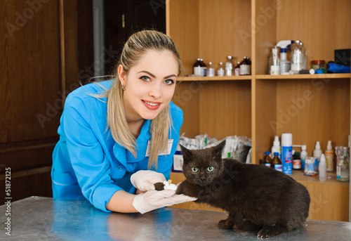 veterinary woman