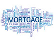 """MORTGAGE"" Tag Cloud (money finance credit bank debt interest)"