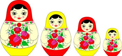 matryoshka, russian souvenir