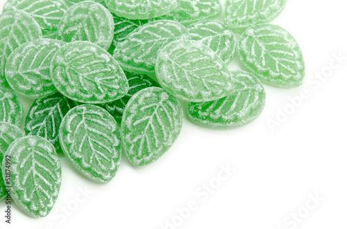 Waldmeister-Bonbons