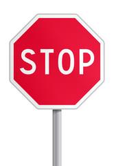 Panneau - stop V2