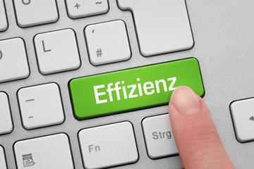 Tastatur mit Effizienz