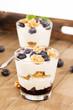 heidelbeeren joghurt desserts