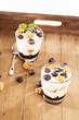 blaubeeren joghurt desserts