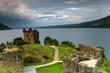 Célèbre château du Loch Ness