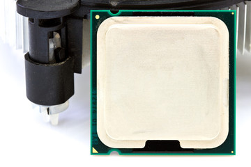 CPU cooler isolated
