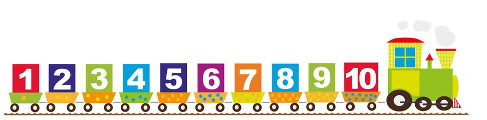 Pociąg i cyfry