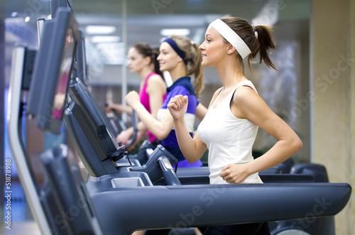 Poster, Tablou running in gym