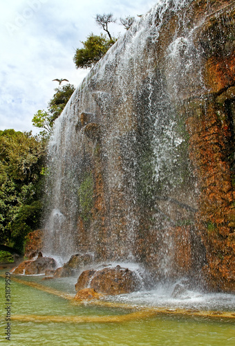 Waterfall in Nice.