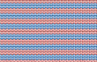 Vector background. Knitted fabric with blue and pink stripes
