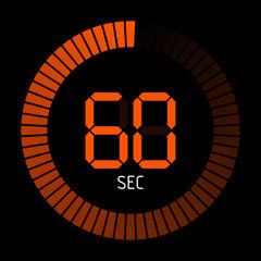 timer rund 60 sec IV