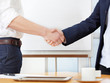 Business transaction - handshake