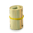 one roll of money isolate