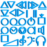Recorder symbols set