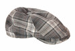 It is a checkered cloth cap.