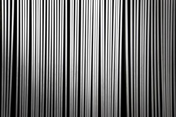 white abstrackt stipes on black