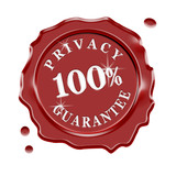 Privacy Guarantee Wax Seal