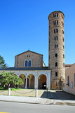 Ravenna, New Saint Apollinaire Basilica with round bell tower
