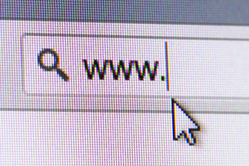 WWW Text in Address Bar
