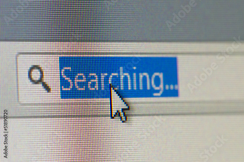 Searching Text in Address Bar of Browser