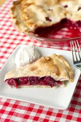 Berry Pie-plain ice cream