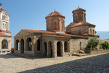 Sveti Naum Monastery On Lake Ohrid, Republic Of Macedonia