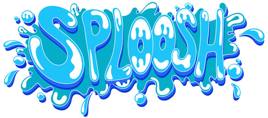 Splash - Comic Expression Vector Text
