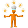 Five-Star Chef Manikin