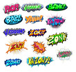 Explosive Funny Comic Expression Vector Text