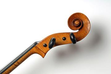 Hals eines Violoncello