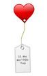 Schild Herz Muttertag