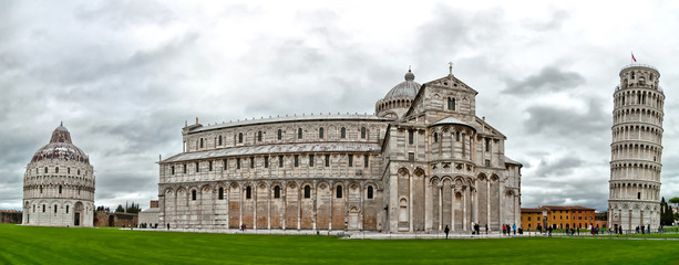 Pisa - Italy: Baptistery, Cathedral, and Leaning Tower