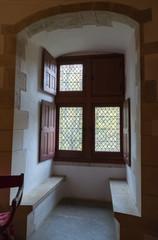 Fenêtres du château fort