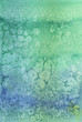 Greenish-blue background made with watercolors