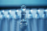 Chess King- Business Concept Series - Leadership, CEO.