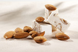 Smooth belgian honey and almond nougat