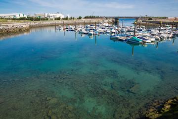 Marina wide angle