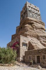 Dar al-Hajar Yemen palazzo della roccia Sana'a