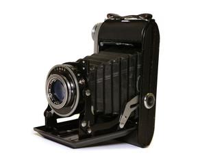 antiker Fotoapparat, vintage Fotokamera