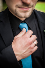 Etwas Blaues, eine besondere Krawatte